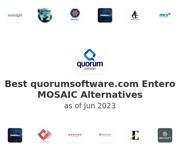 Best Entero MOSAIC Alternatives