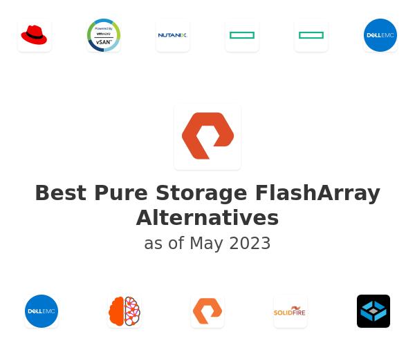 Best Pure Storage FlashArray Alternatives