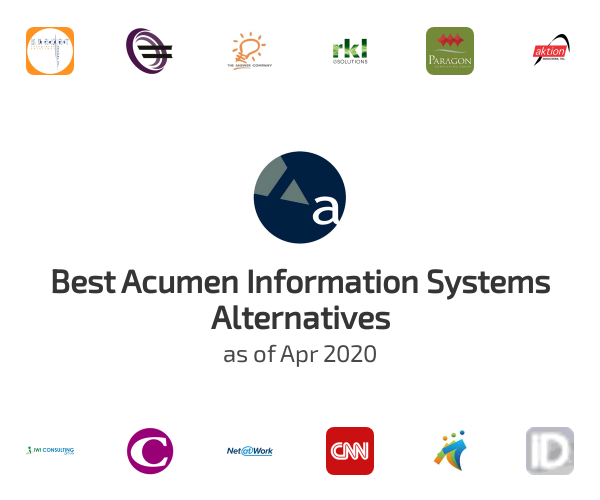 Best Acumen Information Systems Alternatives