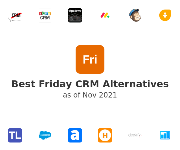 Best Friday CRM Alternatives