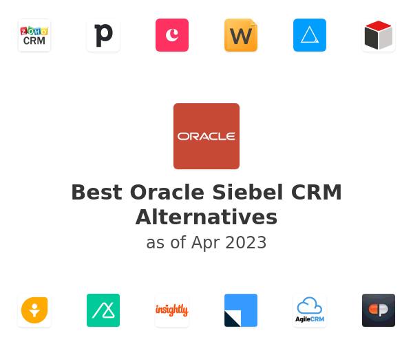 Best Oracle Siebel CRM Alternatives