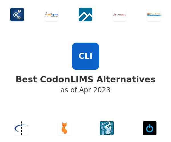 Best CodonLIMS Alternatives