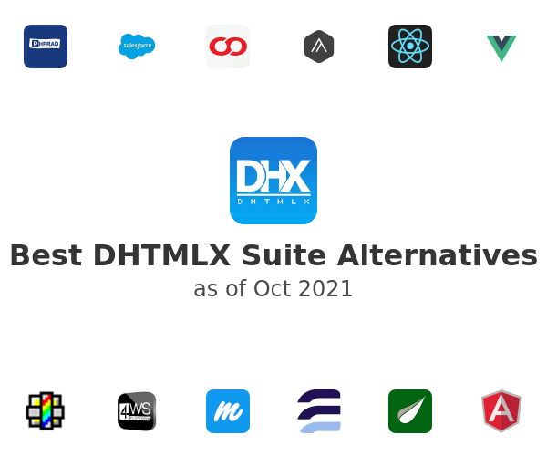 Best DHTMLX Suite Alternatives