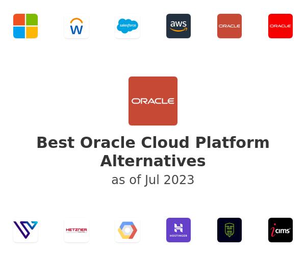 Best Oracle Cloud Platform Alternatives
