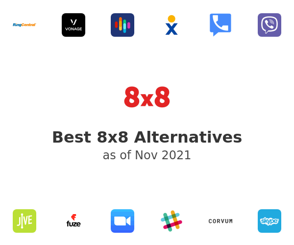 Best 8x8 Alternatives