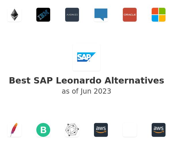 Best SAP Leonardo Alternatives
