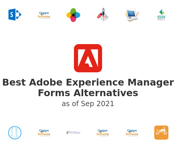 Best Adobe Experience Manager Forms Alternatives