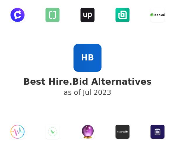Best Hire.Bid Alternatives