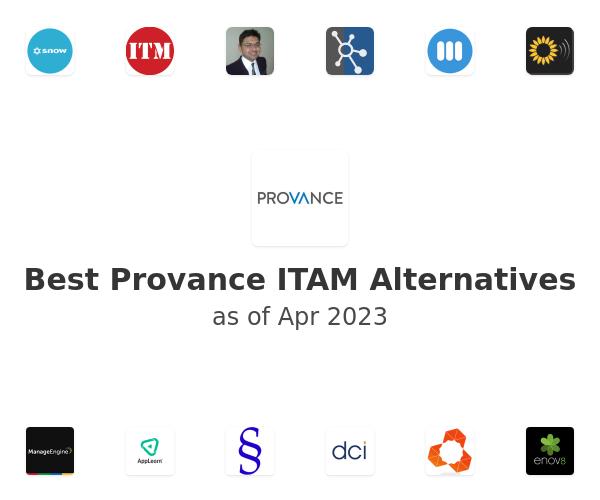 Best Provance ITAM Alternatives