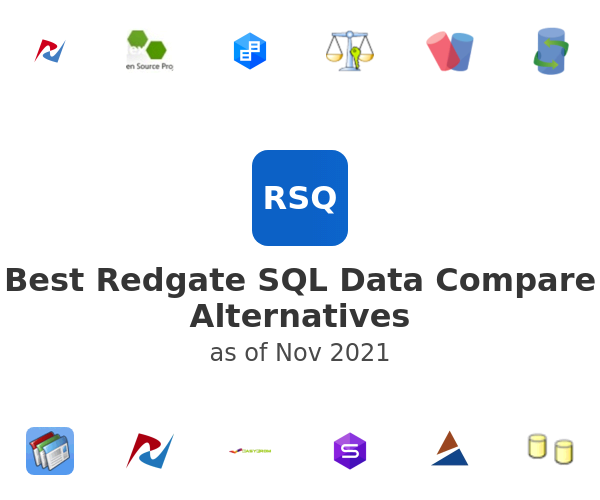 Best Redgate SQL Data Compare Alternatives