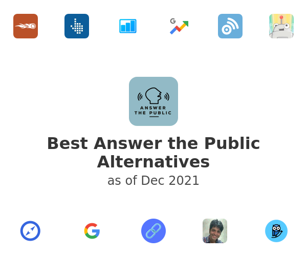 Best Answer the Public Alternatives