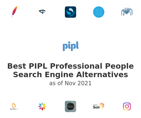 Best PIPL Professional People Search Engine Alternatives
