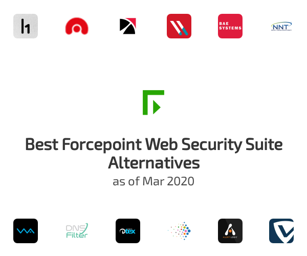 Best Forcepoint Web Security Suite Alternatives