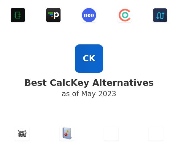 Best CalcKey Alternatives