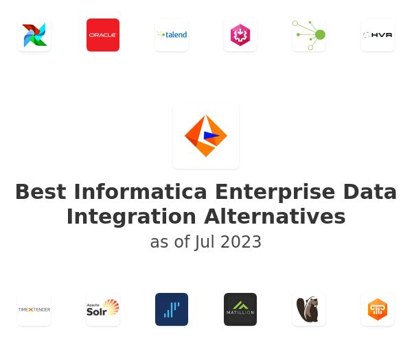 Best Informatica Enterprise Data Integration Alternatives