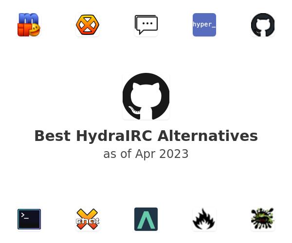 Best HydraIRC Alternatives