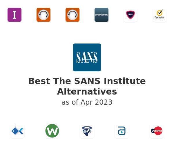 Best The SANS Institute Alternatives