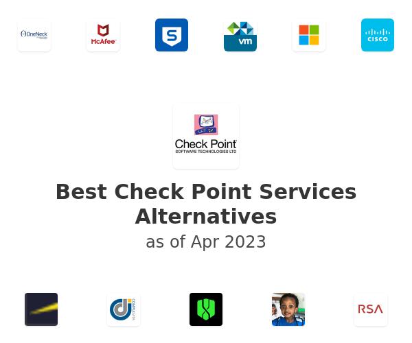 Best Check Point Services Alternatives