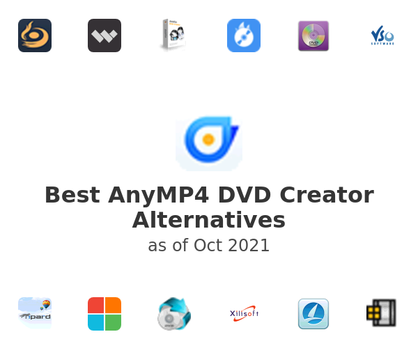 Best AnyMP4 DVD Creator Alternatives