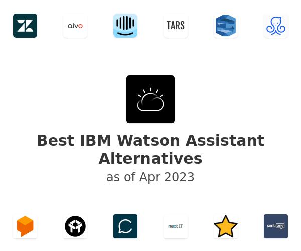 Best IBM Watson Assistant Alternatives