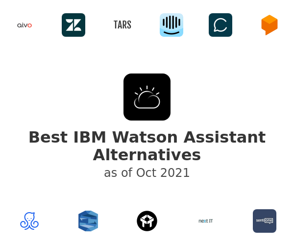 Best IBM Watson Assistant Alternatives