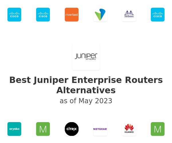 Best Juniper Enterprise Routers Alternatives