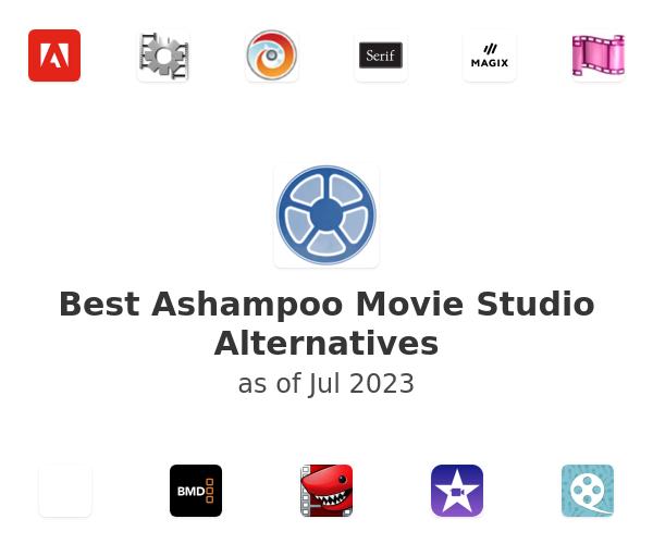 Best Ashampoo Movie Studio Alternatives