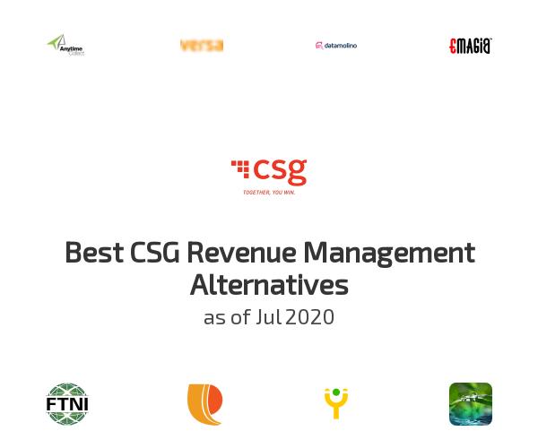 Best CSG Revenue Management Alternatives