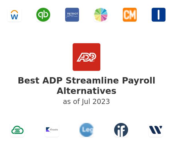 Best ADP Streamline Payroll Alternatives