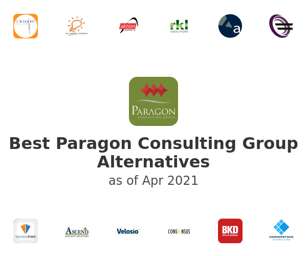 Best Paragon Consulting Group Alternatives