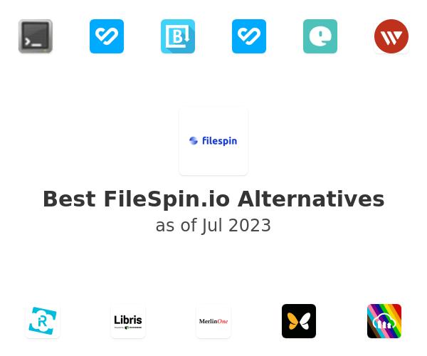 Best FileSpin.io Alternatives