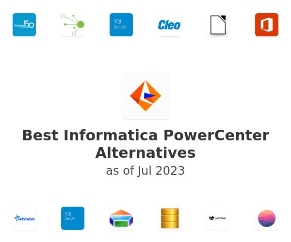 Best PowerCenter Alternatives