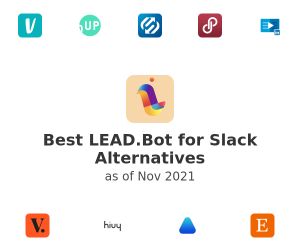 Best LEAD.Bot for Slack Alternatives