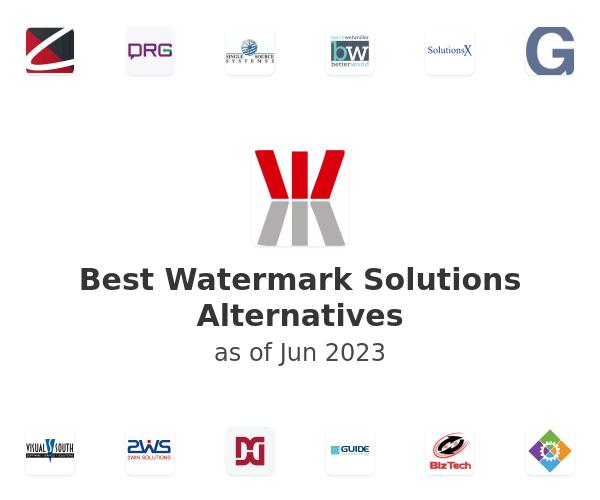Best Watermark Solutions Alternatives