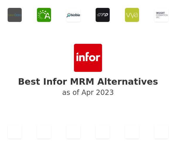 Best Infor MRM Alternatives