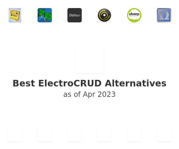 Best ElectroCRUD Alternatives