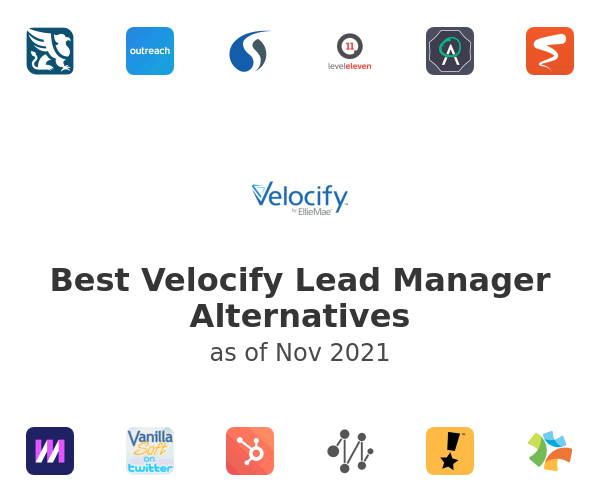 Best Velocify Lead Manager Alternatives