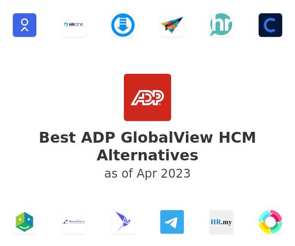 Best ADP GlobalView HCM Alternatives