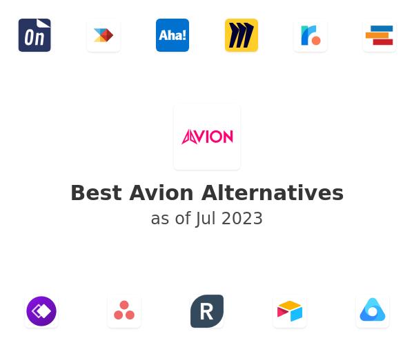 Best Avion Alternatives