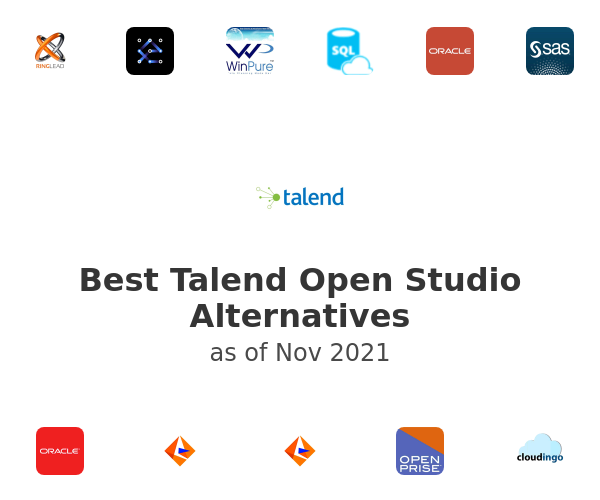 Best Talend Open Studio Alternatives