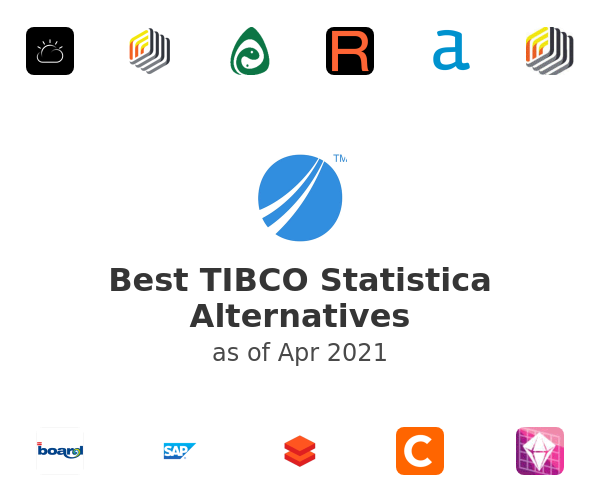 Best TIBCO Statistica Alternatives