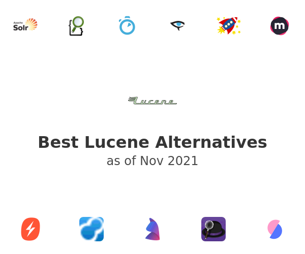 Best Lucene Alternatives