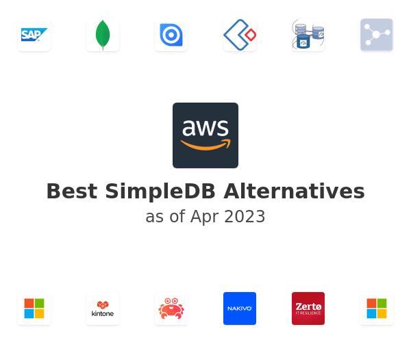 Best SimpleDB Alternatives