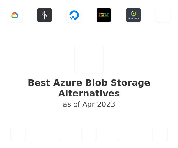 Best Azure Blob Storage Alternatives
