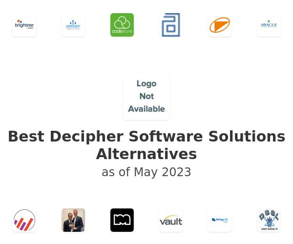 Best Decipher Software Solutions Alternatives