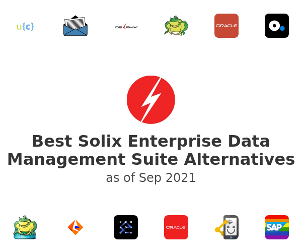 Best Solix Enterprise Data Management Suite Alternatives