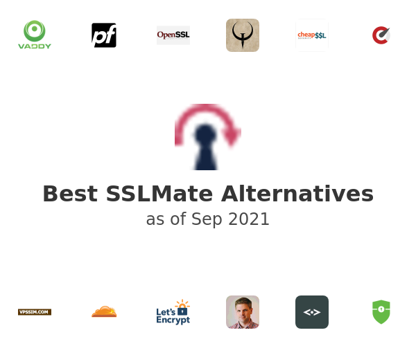 Best SSLMate Alternatives