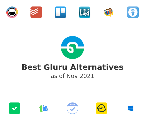 Best Gluru Alternatives