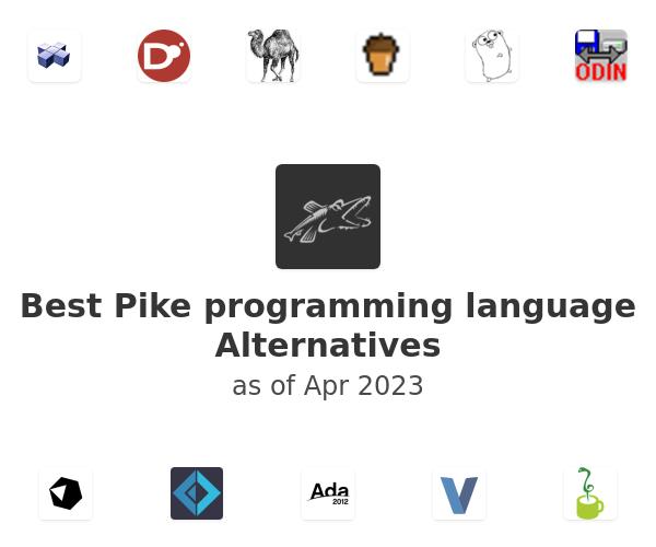Best Pike programming language Alternatives