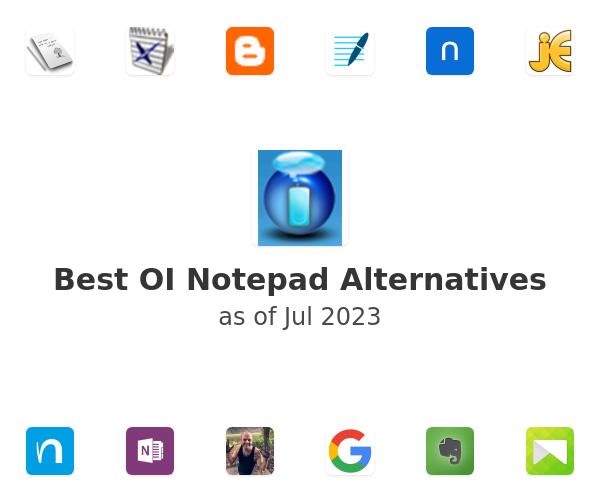 Best OI Notepad Alternatives